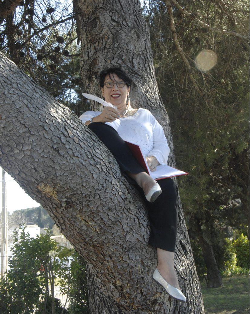 Elhadi sur une branche